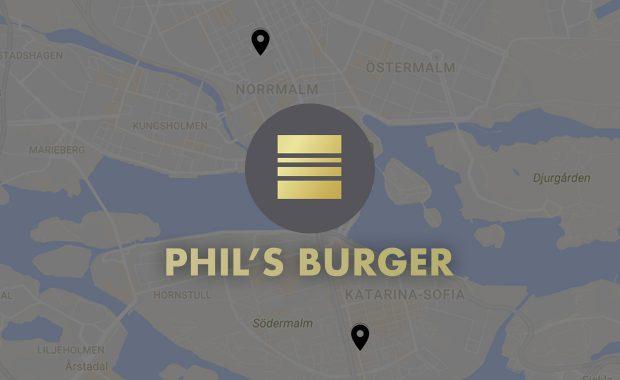 Phil's Burger öppnar två nya restauranger i Stockholm