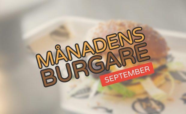 Månadens burgare [September 2017]