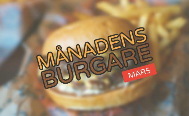 Månadens burgare [Mars 2018]