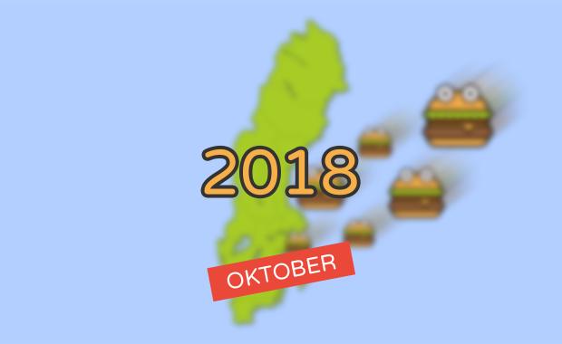 Nyheter inom burgarvärlden [Oktober 2018]