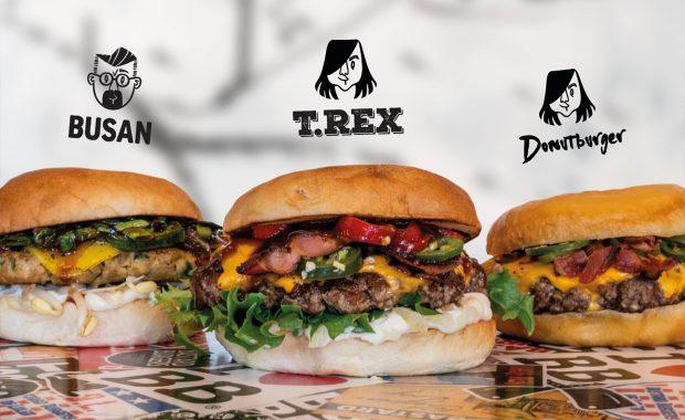Våra augustiburgare för Bastard Burgers