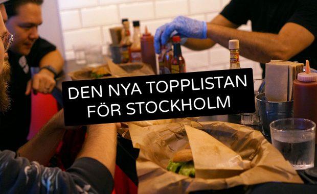 Den nya topplistan för Stockholm