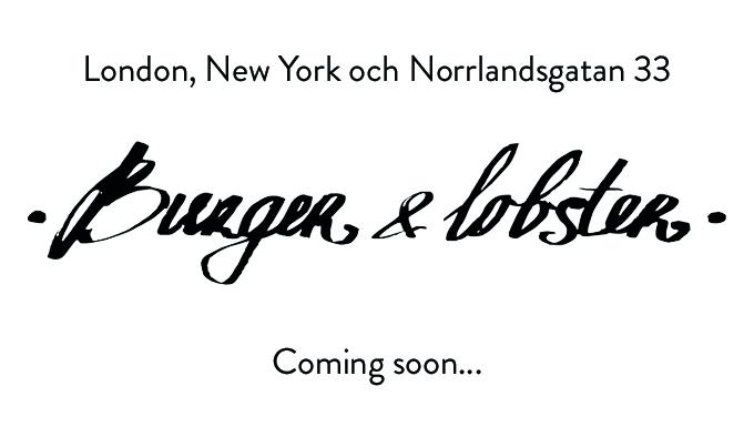 Burger & Lobster kommer till Sverige