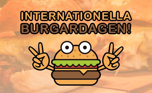 Ät gratis burgare på internationella burgardagen!