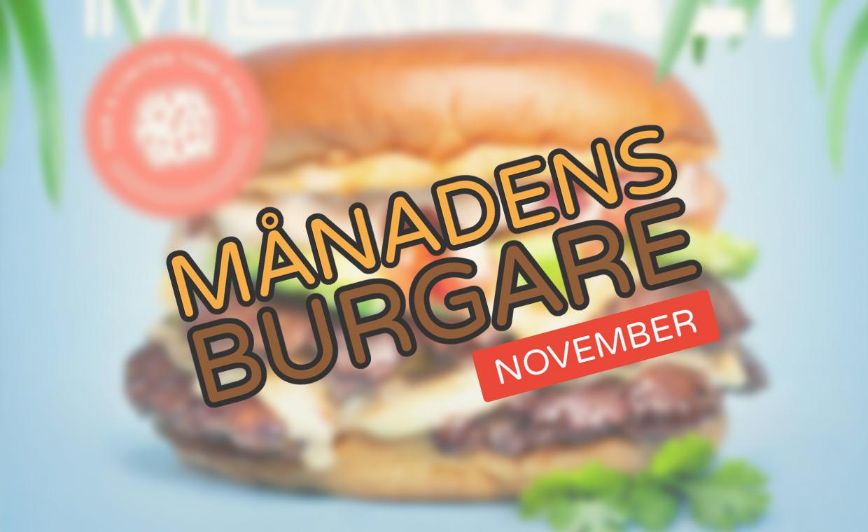 Månadens burgare [November 2016]
