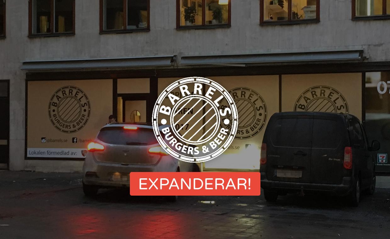 Barrels Burgers & Beer expanderar!