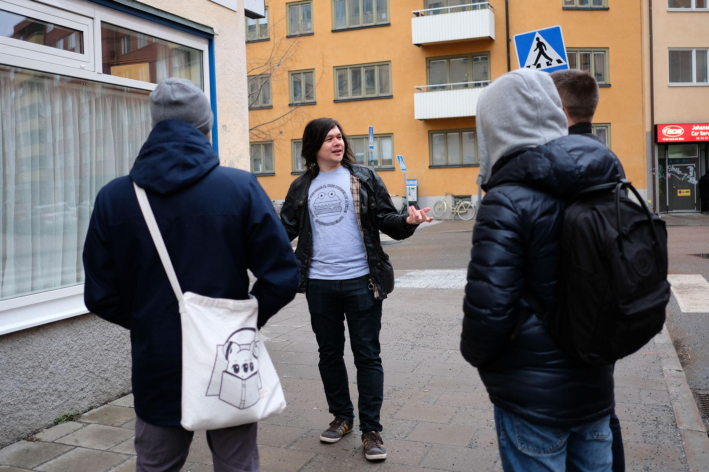 Aprilskämt: Burgerdudes presenterar: Stockholm Burger Walk