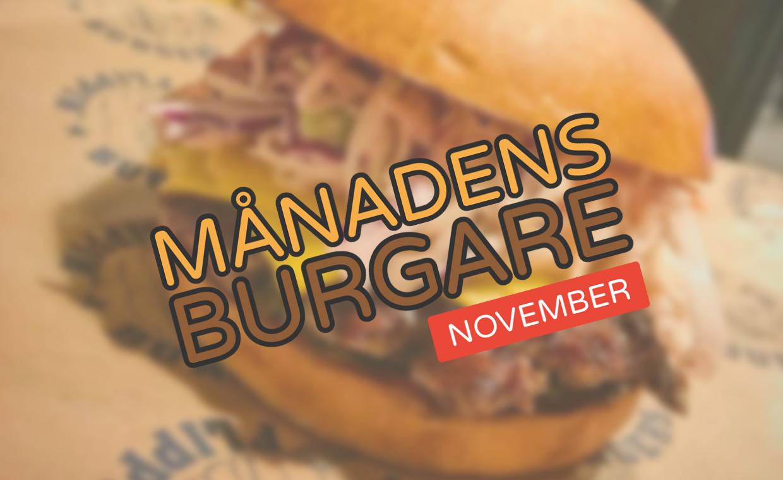 Månadens burgare [November 2017]