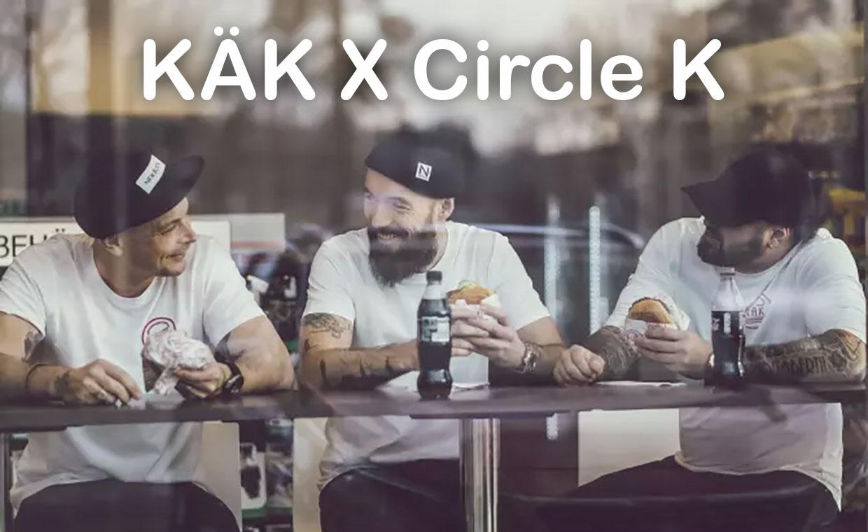 Circle K serverar hamburgare från KÄK