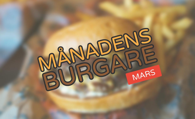 Månadens burgare [Mars 2020]