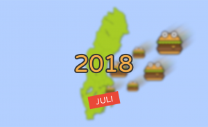 Nyheter inom burgarvärlden [Juli 2018]