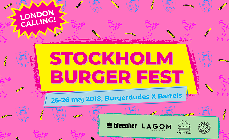 Stockholm Burger Fest 2018