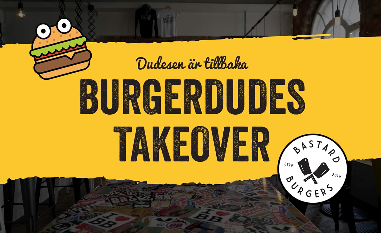 Burgerdudes x Bastard Burgers 2018