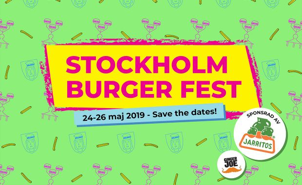 Brisket & Friends kommer till Stockholm Burger Fest 2019