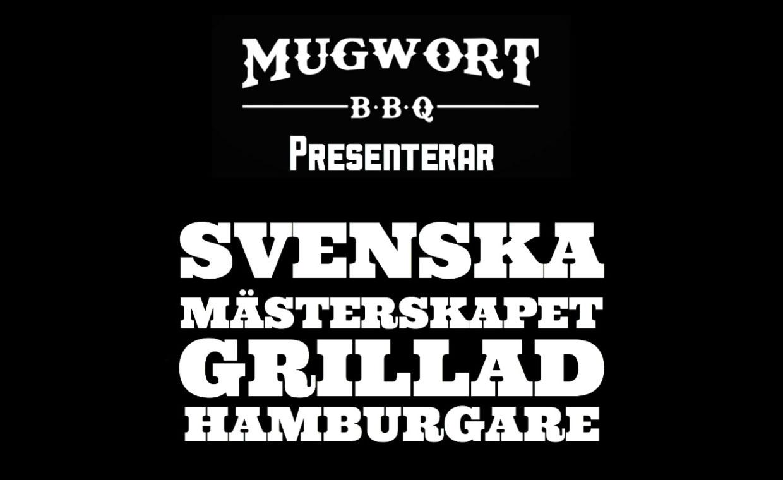 SM i hamburgare 2019 anordnas i Lerum den 1 september