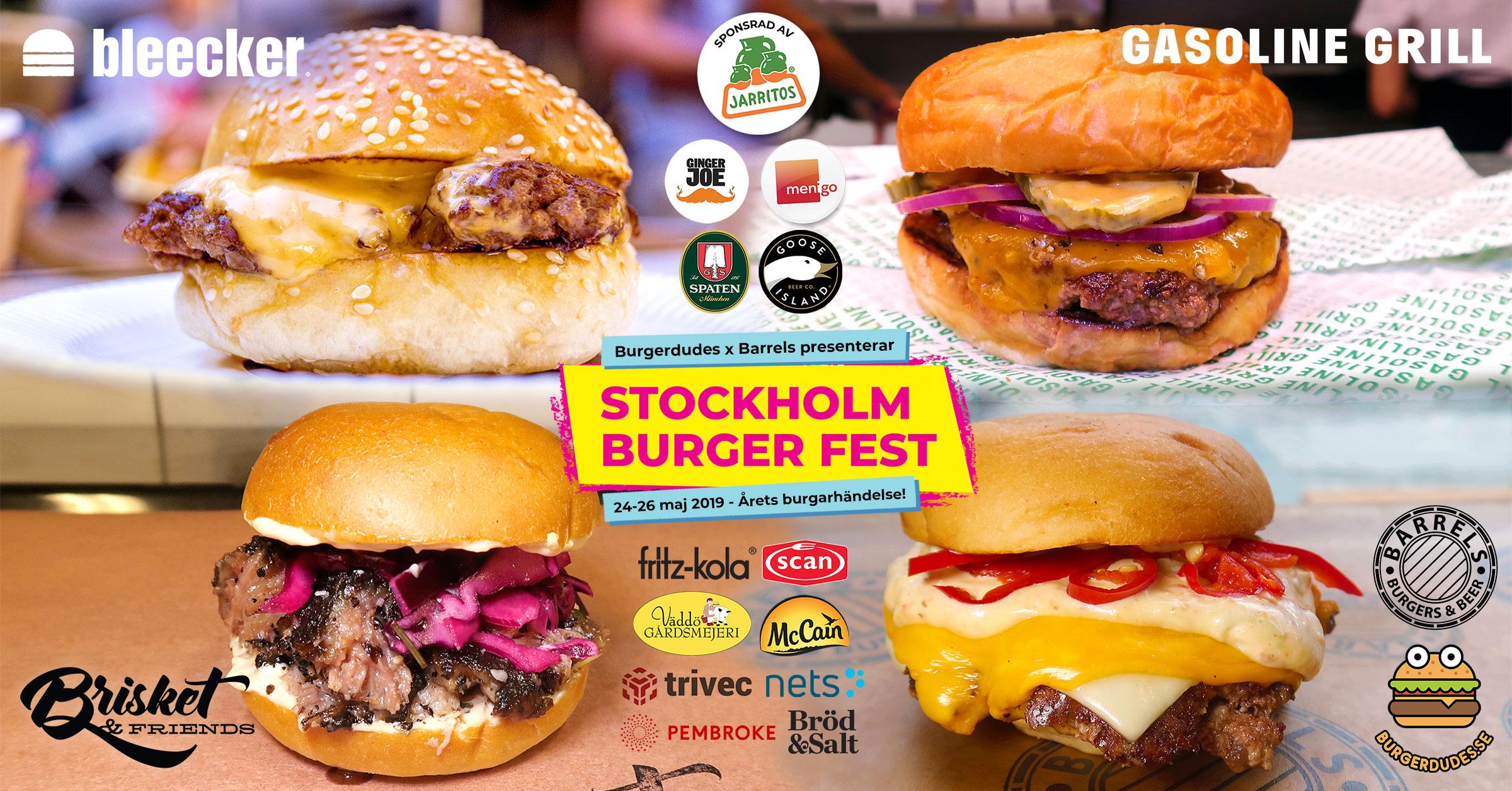 Pressmeddelande: Stockholm Burger Fest 2019