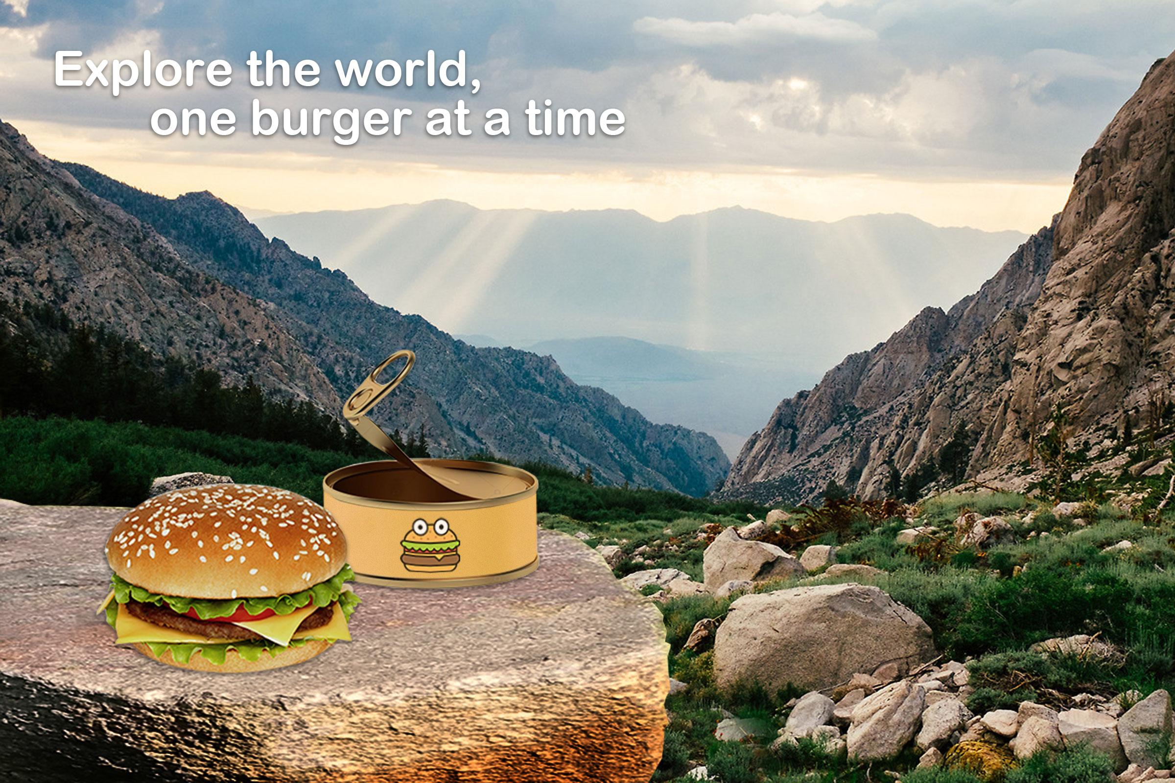 Aprilskämt: Burgerdudes Canned Burger