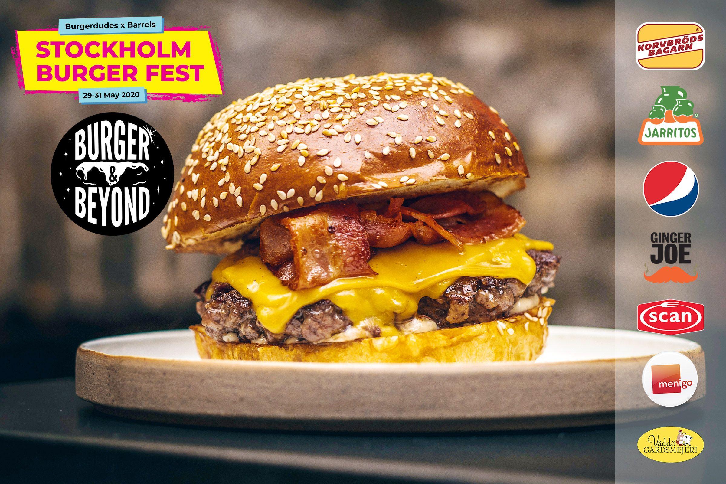 Uppdatering om Stockholm Burger Fest 2020