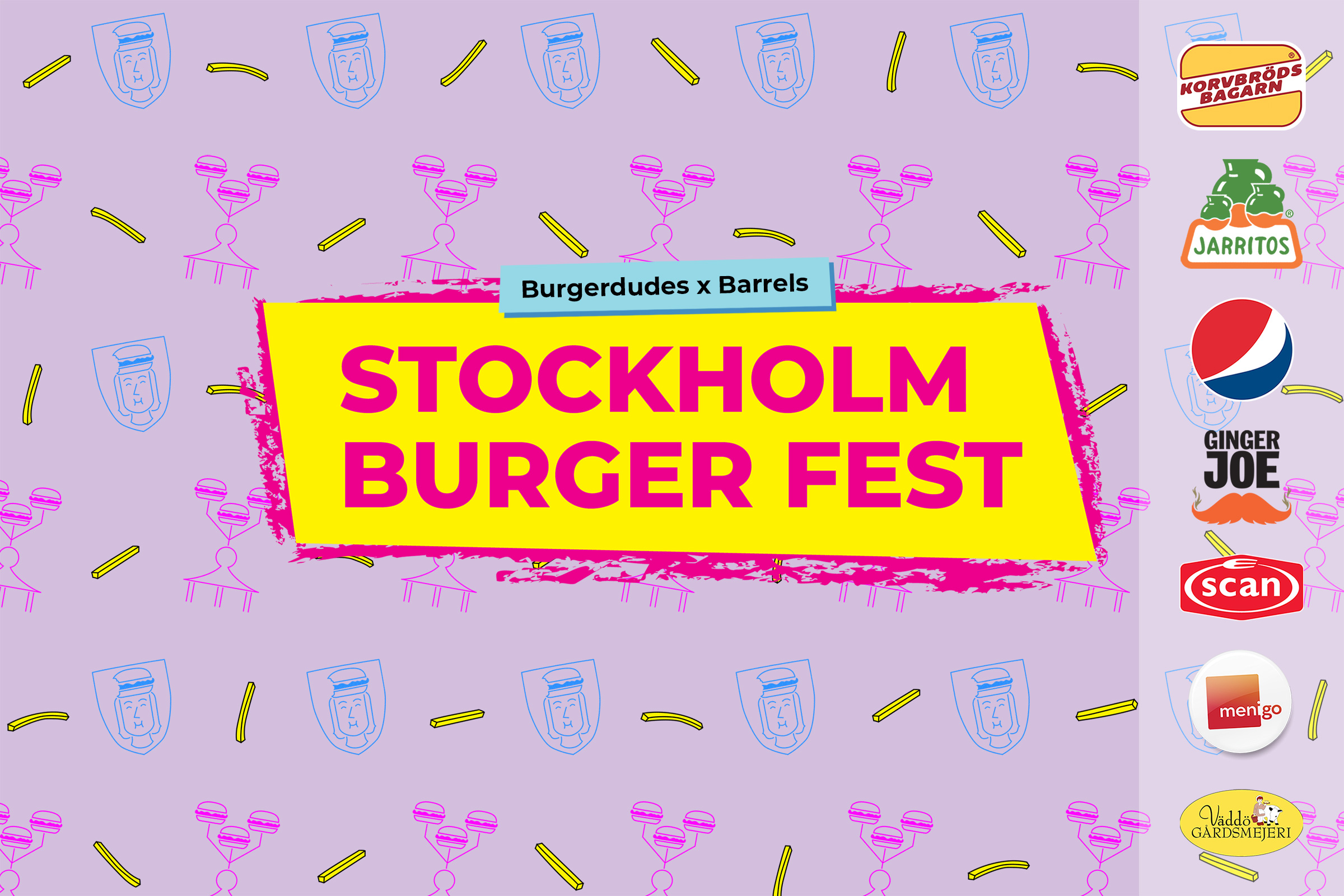Stockholm Burger Fest 2020 inställt