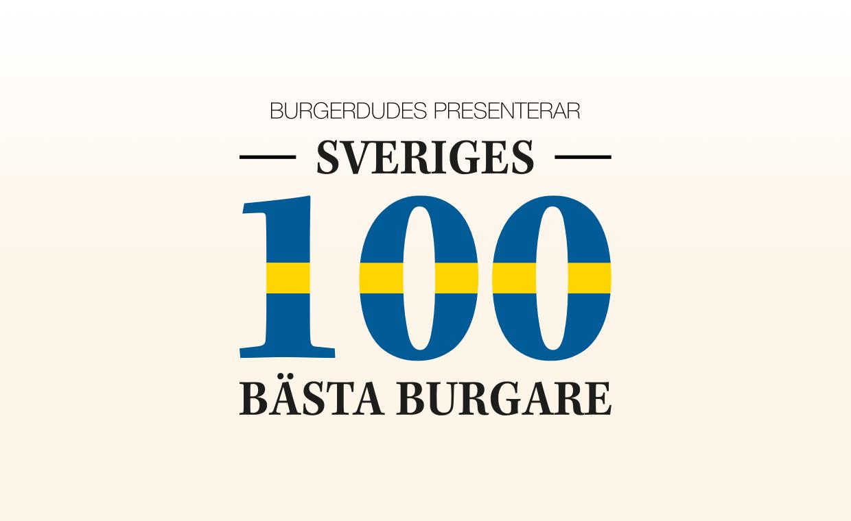 Sveriges 100 bästa burgare 2021